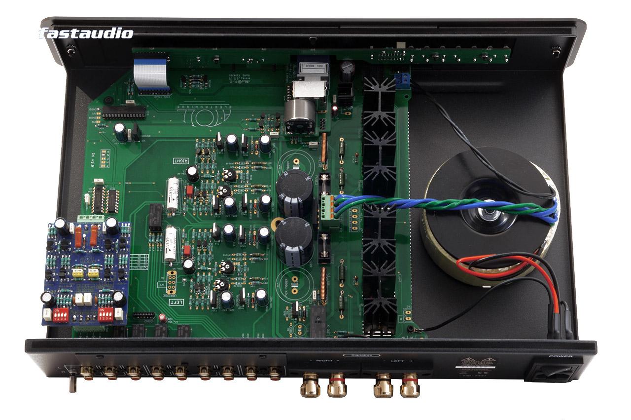 Atoll IN50 Stereo Vollverstärker mit Phono MM/MC Erweiterungsmodul P100