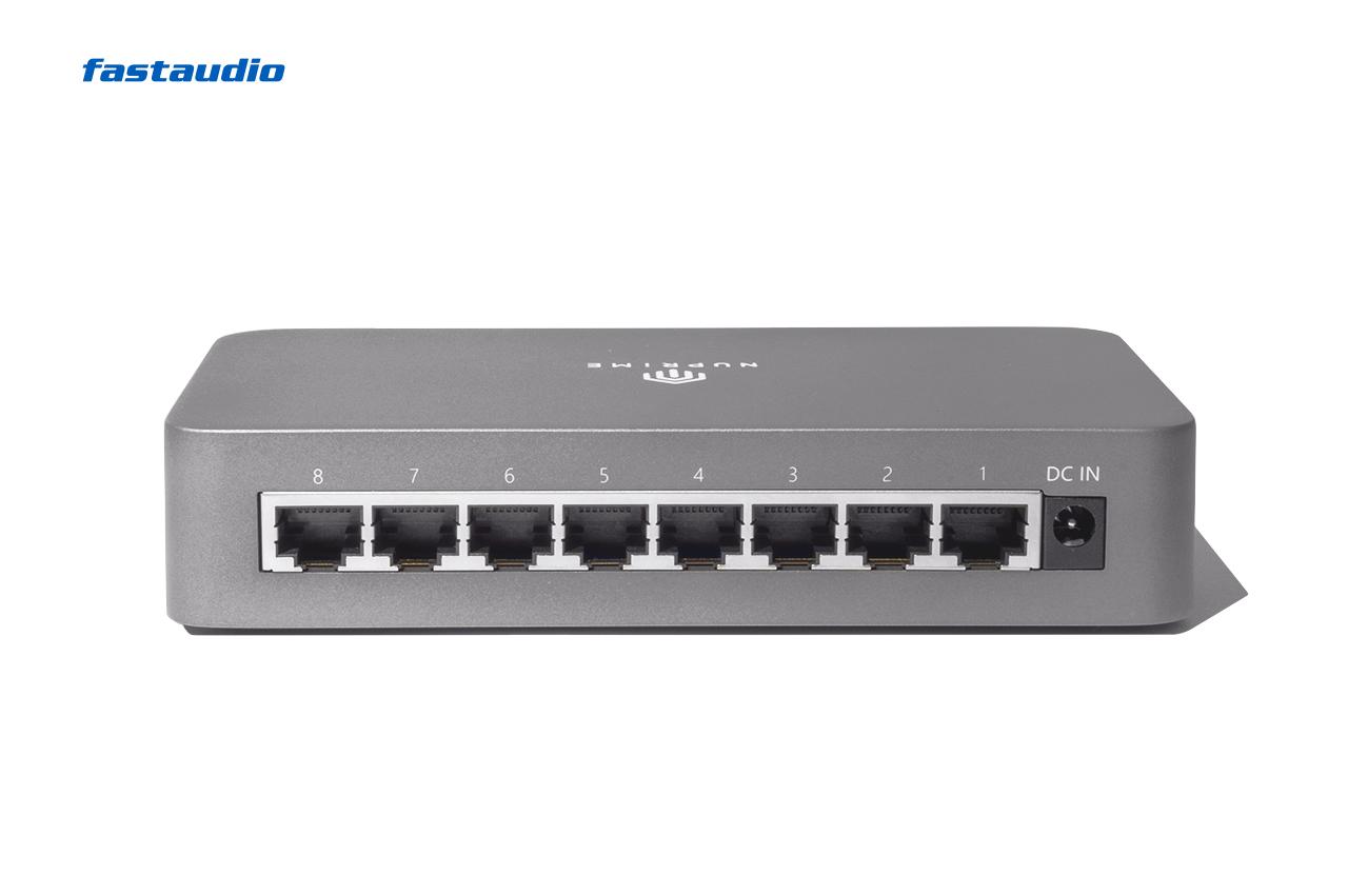 NuPrime Omnia SW-8 Netzwerk-Switch