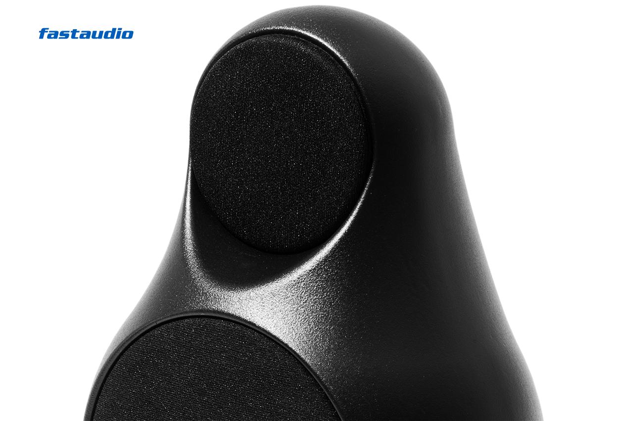 Jern 12 WS Lautsprecher Nordic Black, nahe Ansicht